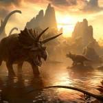 Dinosaurier skämmer ut sig