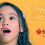 Nya riktlinjer från American Heart Association – Barn & ungdomar (2-18 år) bör aldrig konsumera mer än 25 gram tillsatt socker per dag för att förhindra hjärt-kärlsjukdom